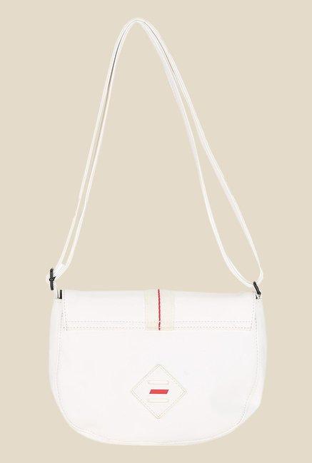 28f56879e55b Buy Puma Ferrari LS White Textured Sling Bag For Women At Best Price ...