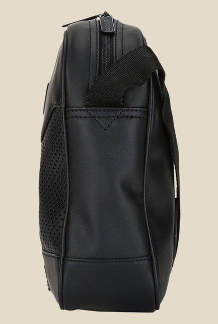 Buy Puma Ferrari LS Black Textured Sling Bag For Women At Best Price ... 88c2e1303ab93