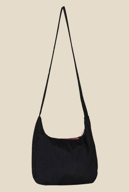 21cdc952f4 Buy Puma Studio Black Printed Hobo Sling Bag For Women At Best Price ...
