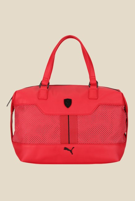 2252dea77e2d Buy Puma Ferrari LS Red Duffle Bag For Women At Best Price   Tata CLiQ