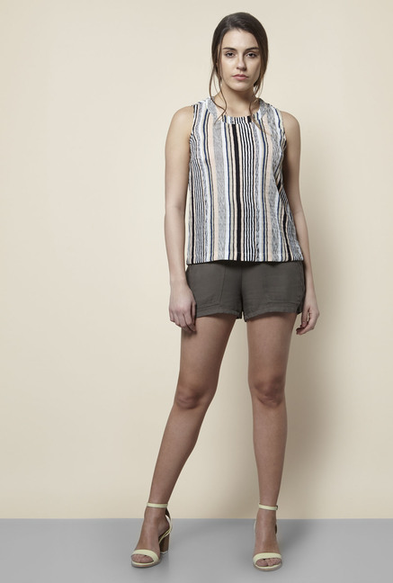 New Look Multicolor Striped Top