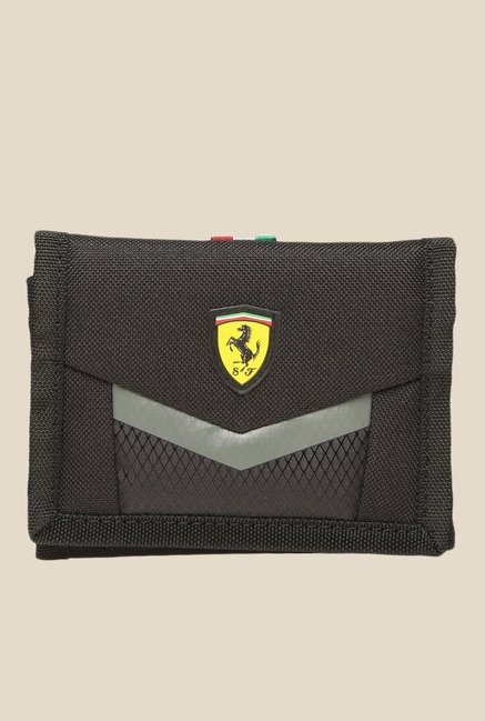 21ae7366c6 Buy Puma Ferrari Fanwear Black Wallet Online At Best Price @ Tata CLiQ