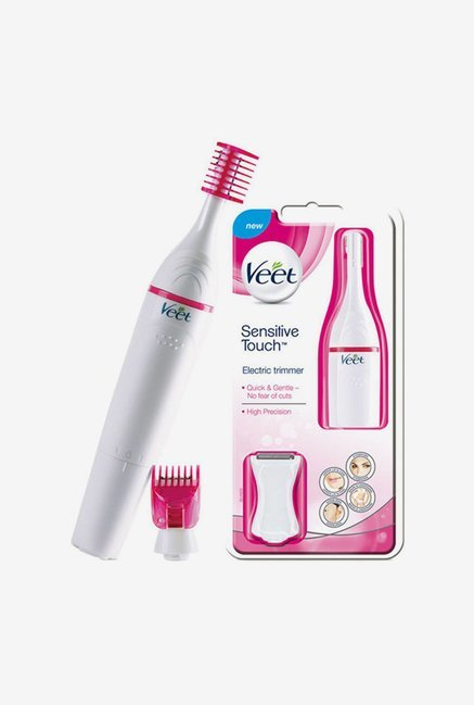 Veet Sensitive Touch Electric Trimmer for Women (White)