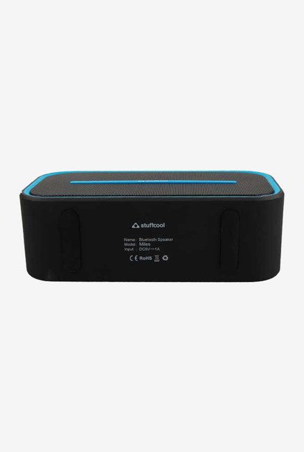 Stuffcool Mile Wireless Bluetooth Speaker (Black/Blue)