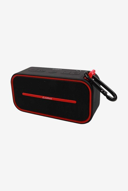Stuffcool Mile Wireless Bluetooth Speaker (Black/Red)