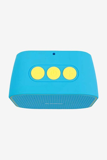 Stuffcool Monk Portable Bluetooth Speaker (Blue/Yellow)