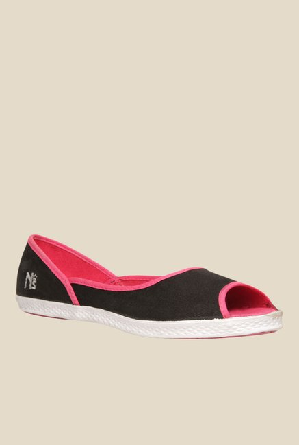 North Star By Bata Maria Black Ptoe Shoes