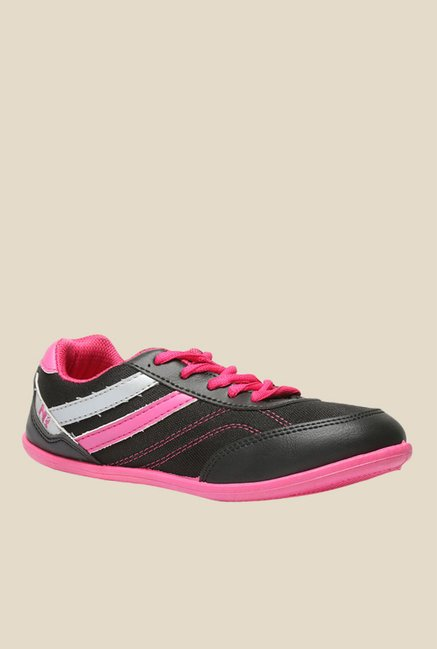 North Star By Bata Anmol Black Pink Running Shoes