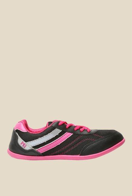 North Star by Bata Anmol Black & Pink Running Shoes