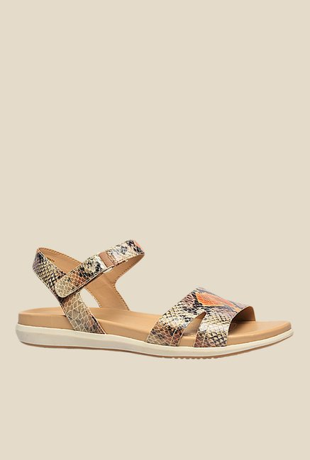 f245b72e8fc6 Buy Naturalizer Selma Light Brown Back Strap Sandals for Women at ...