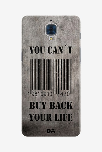 Buy You Can Not Buy Back Your Life Case for Oneplus 3 Online