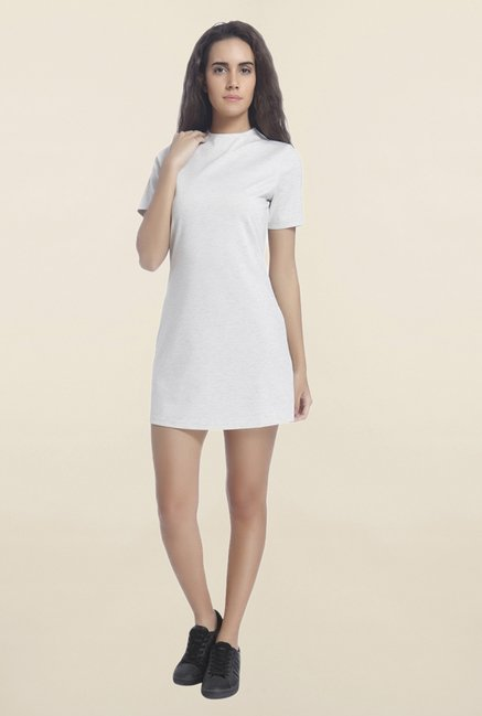 Vero Moda Off White Mini Dress