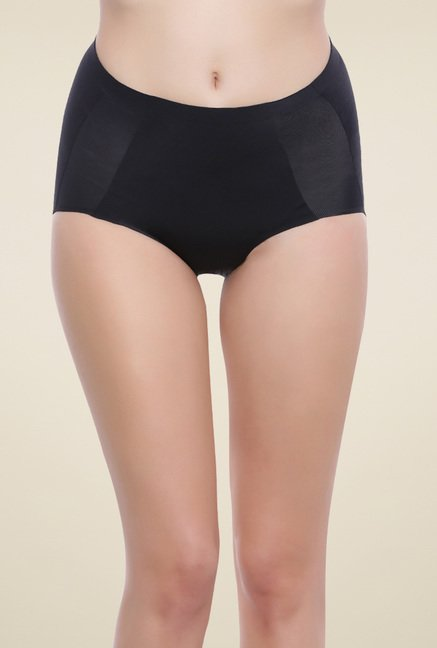 Zivame Black Cotton Briefs