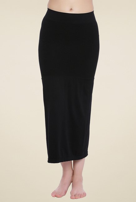 Zivame Black Solid Skirt