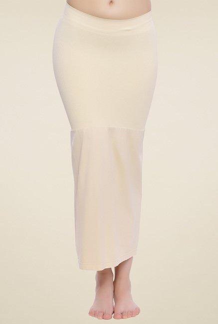 Zivame Beige Solid Skirt