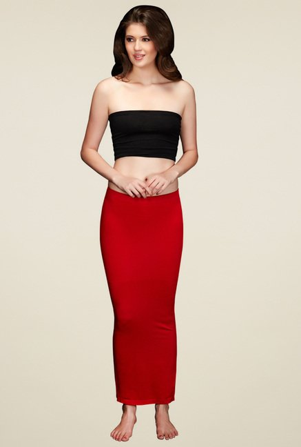 Zivame Red Solid Skirt