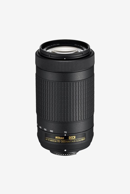 Nikon AF P DX NIKKOR 70 300mm F/4.5 6.3G ED Telephoto Zoom Lens  Black