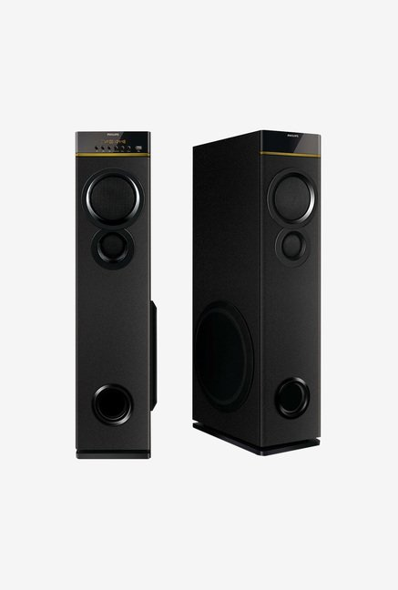 Philips SPA9080B 2 Ch Multimedia Speaker (Black)