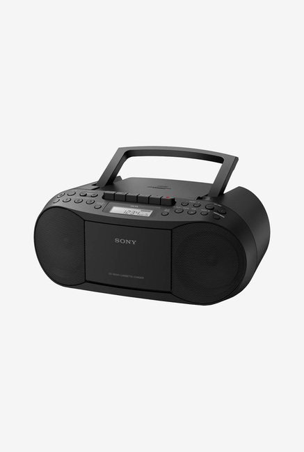 Sony CFD-S70 CD/Cassette Boom Box With Radio (Black)