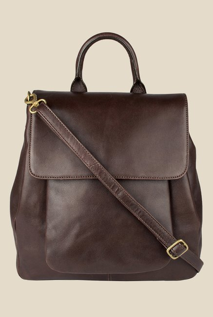 Hidesign Quebracho 02 Brown Solid Leather Backpack