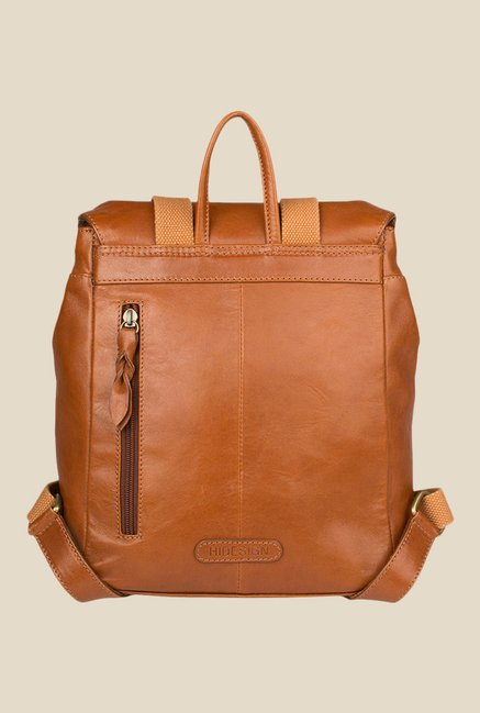Hidesign Hemlock 02 Tan Solid Leather Backpack