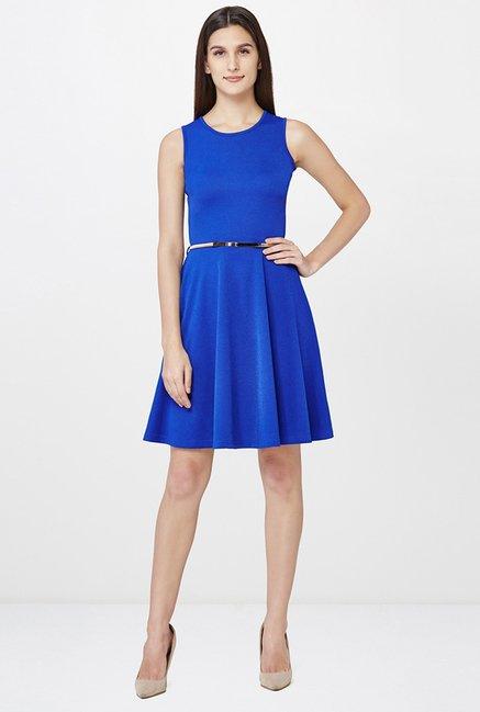 AND Blue Sleeveless Dress