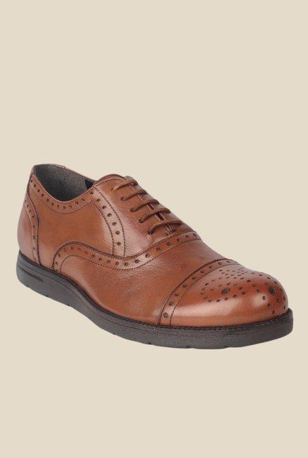 Salt 'n' Pepper Jonnie Almond Tan Oxford Shoes