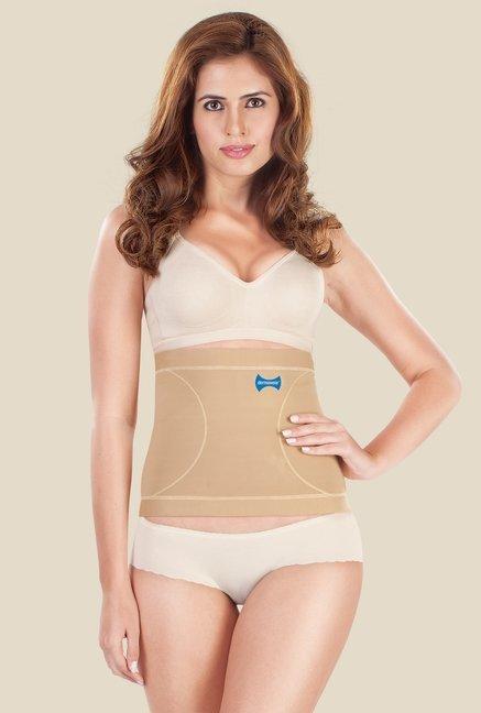Dermawear Beige Solid Tummy Reducer