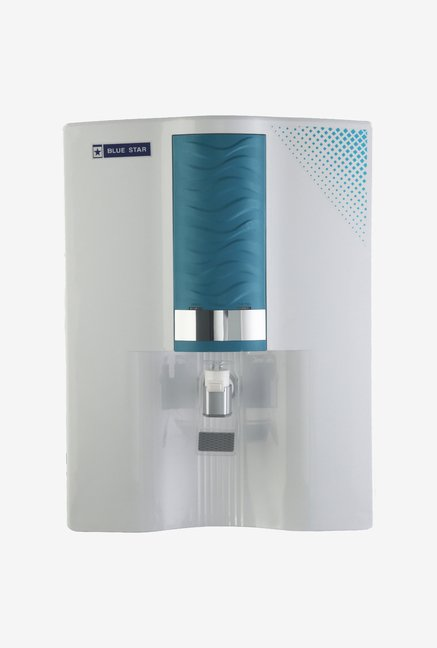 Blue Star Majesto RO + UV 8L Ambient Water Purifier White/Blue