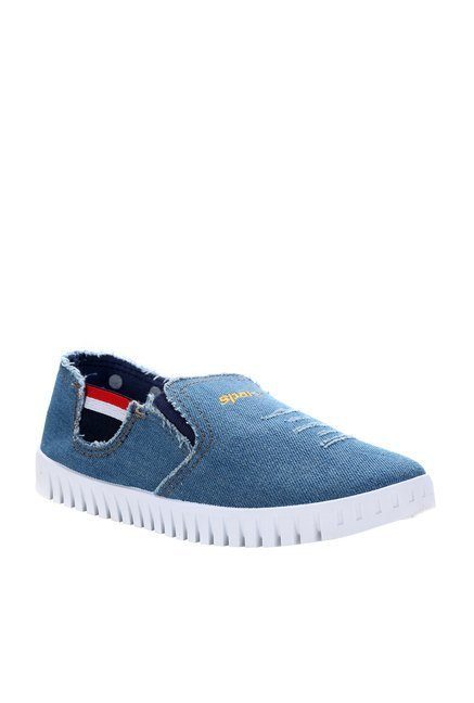 Sparx Blue & White Casual Shoes