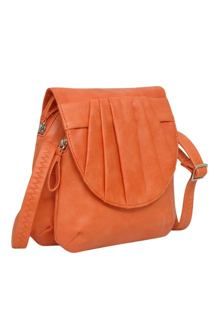 Buy Baggit Alien James Orange Sling Bag For Women At Best Price ...