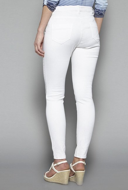 LOV by Westside White Freeda Jeans