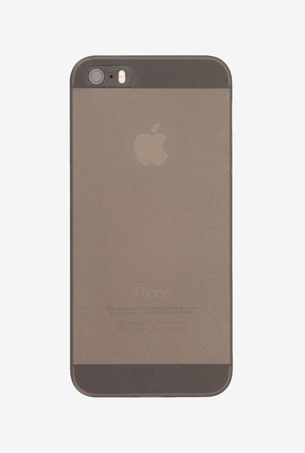 Memumi Slim Series Back Cover for iPhone SE (Black)