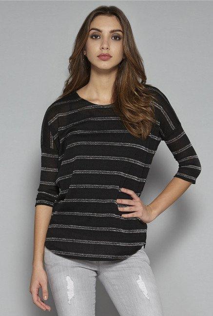 Nuon by Westside Black Sian T Shirt