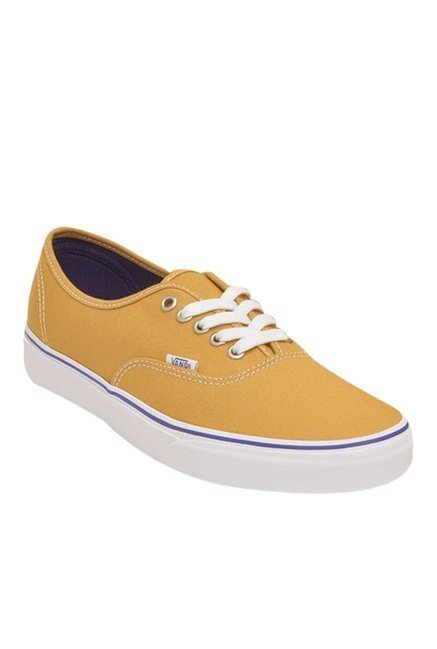 445f4cfbfea Buy Vans Classics Authentic Tan   White Sneakers for Men at Best ...