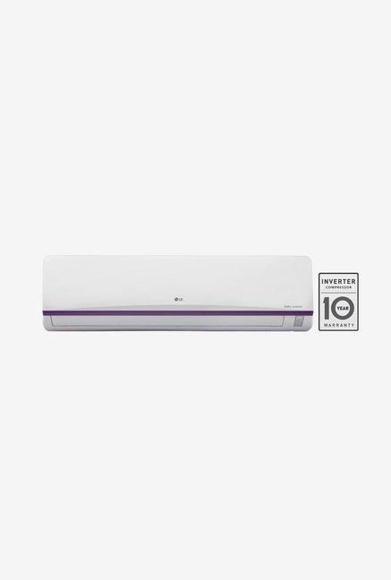 LG JS-Q18BPXA 1.5 Ton 3 Star Dual Inverter Split AC (White)