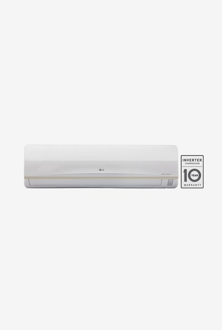 LG JS-Q24PWXA 2 Ton 3 Star (BEE Rating 2017) Dual Inverter Split AC (White)