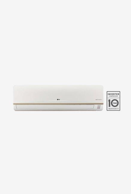 LG JS-Q18AUXA 1.5 Ton 3 Star Dual Inverter Split AC (White)