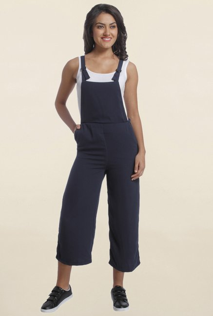 Only Navy Solid Dungaree