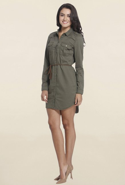 Only Olive Relaxed Fit Dress