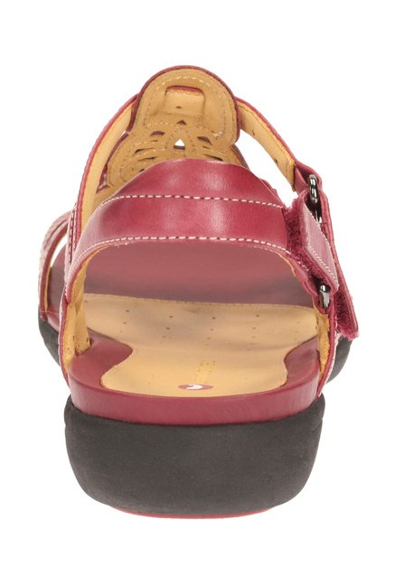 d3c0232915fa Buy Clarks Un Valencia Cherry Back Strap Sandals for Women at Best ...