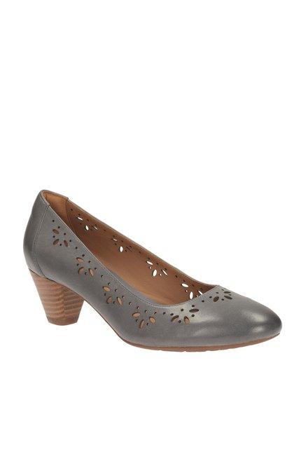 Best Online Clarks Womens Smart Clarks Denny Dazzle Leather Shoes In Beigec