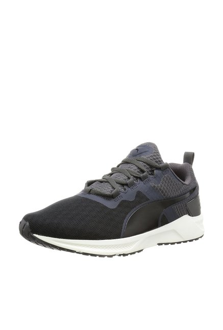 e7d46205413f Buy Puma Ignite XT v2 Grey   Black Running Shoes for Men at Best Price    Tata CLiQ