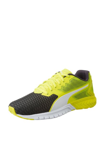 ... Men wholesale online  Puma Ignite Dual Lime Yellow Black Running Shoes  price in India 2019 sneaker f6fc5 d3b28 ... 92e1045d8