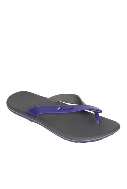 41f603f662625e Buy Rider URB AD Dark Grey   Purple Flip Flops for Men at Best Price   Tata  CLiQ