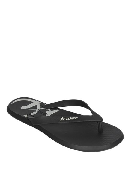 8e11efde893e Buy Rider R1 Icon Black   Grey Flip Flops for Men at Best Price ...