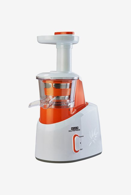 Usha Nutripress CPJ 361S 200 W Juicer (White/Orange)