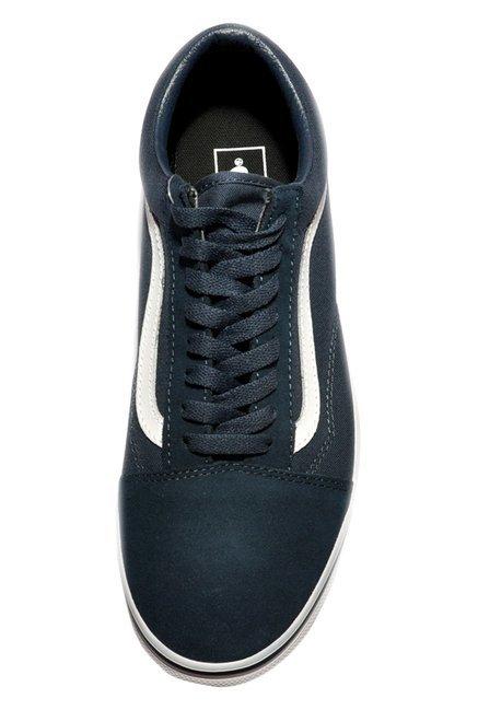 989107d3acf Buy Vans Old Skool Teal Blue   True White Sneakers for Men at Best ...