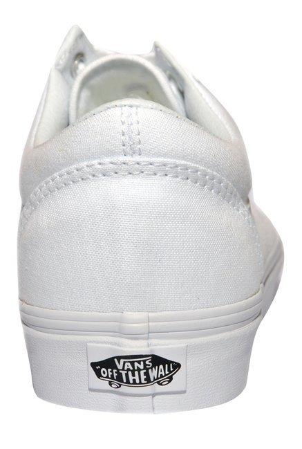 1e544324037 Buy Vans Old Skool True White Sneakers for Men at Best Price   Tata CLiQ
