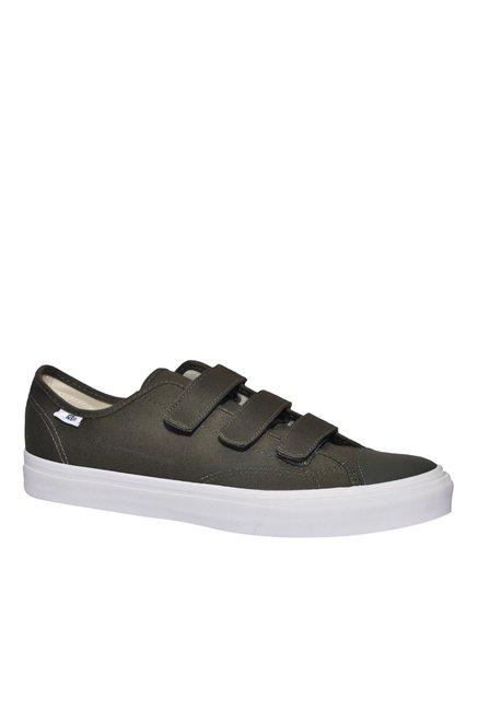 cf2e80460c0e Buy Vans Prison Issue Olive Slip-Ons for Men at Best Price   Tata CLiQ